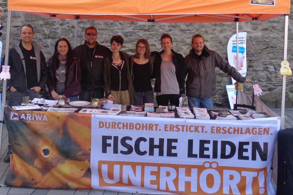 Welttag für das Ende der Fischerei Siegen