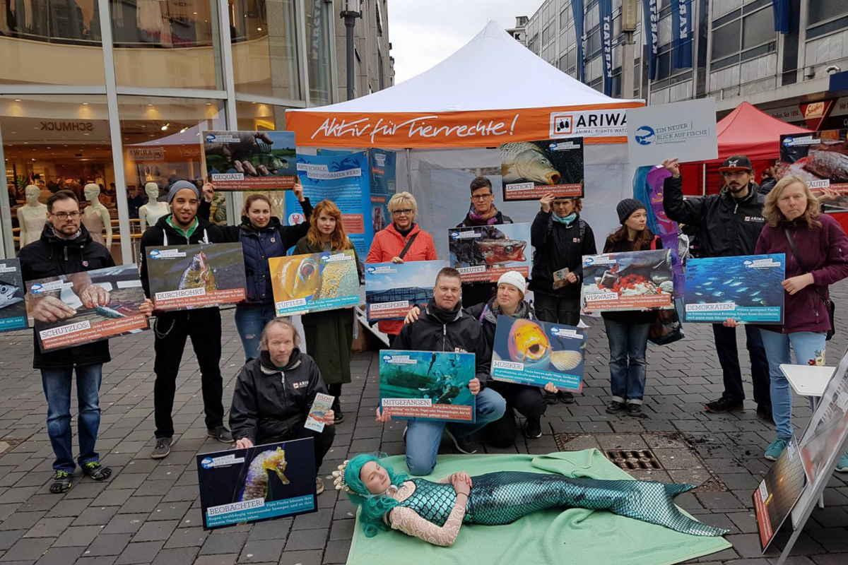 Welttag für das Ende der Fischerei Bielefeld