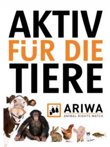 ARIWA-Flyer Aktiv für die Tiere