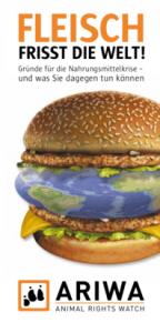 ARIWA-Flyer Fleisch frisst die Welt