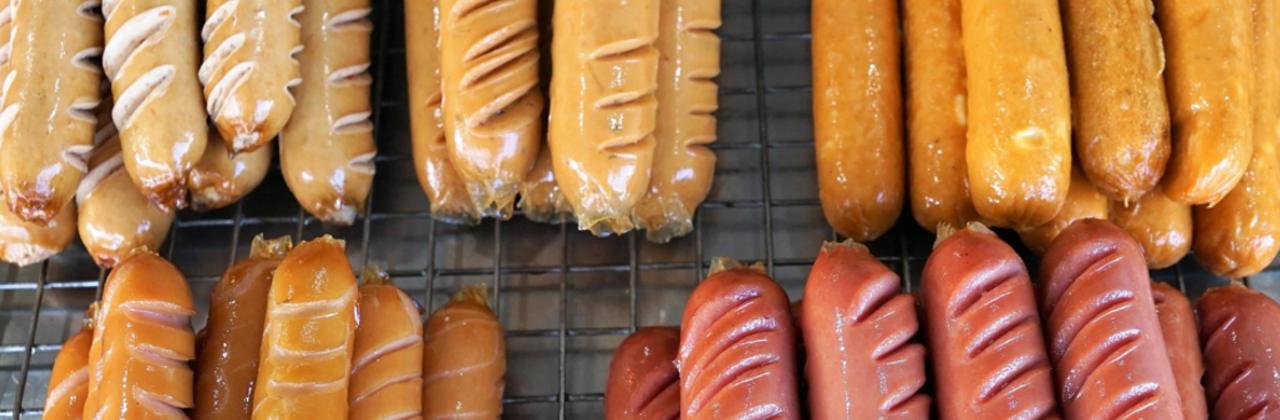 Vegane Wurst aus der Fleischindustrie