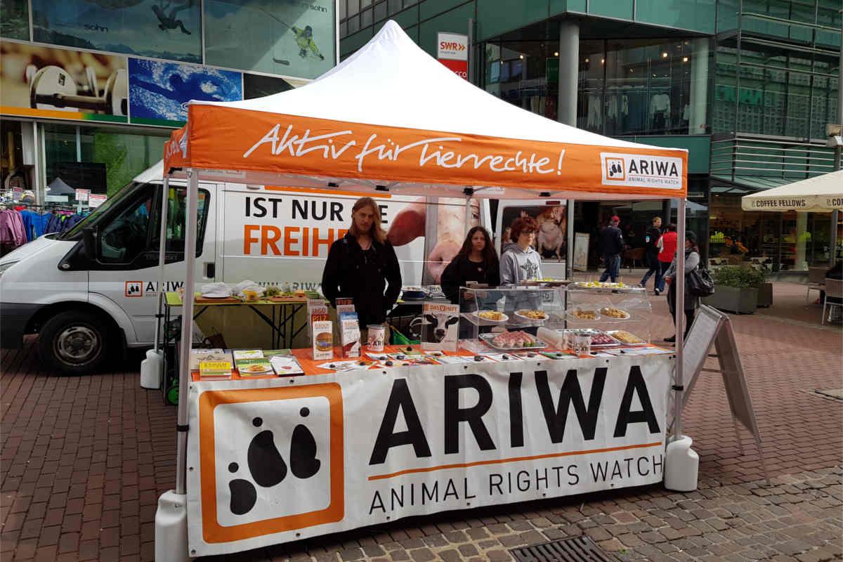 Infostand ARIWA Ulm