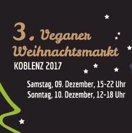 3. Veganer Weihnachtsmarkt Koblenz