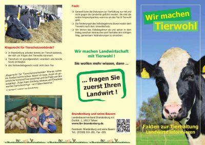 Flyer Bauernverband Brandenburg