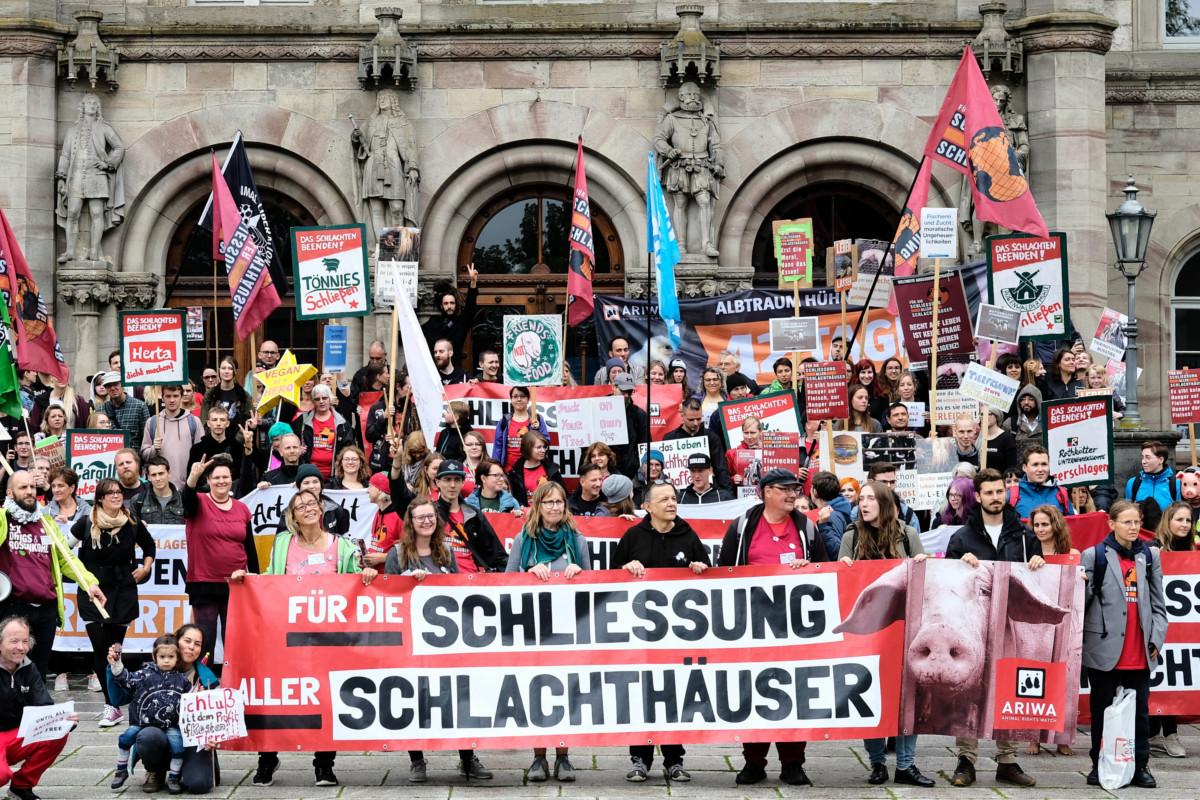 Schließung aller Schlachthäuser in Göttingen 2019