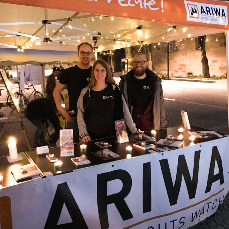 ARIWA Infostand
