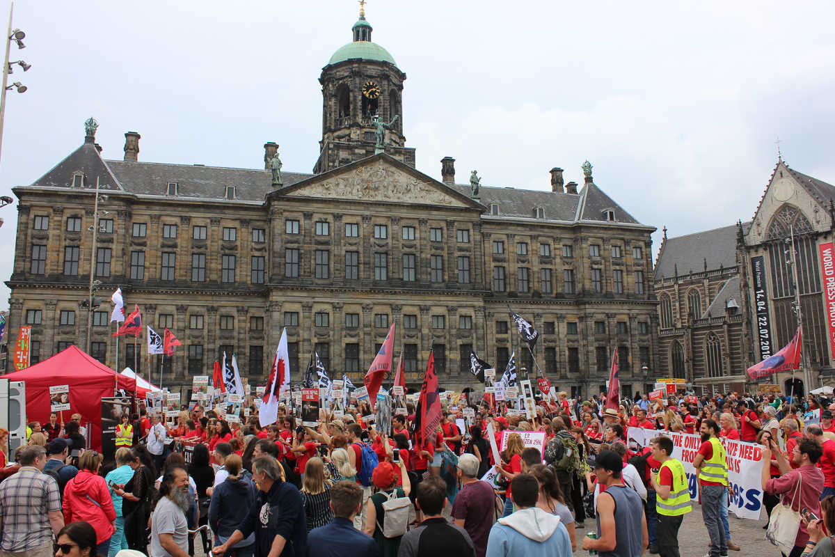 Schließung aller Schlachthäuser in Amsterdam 2018