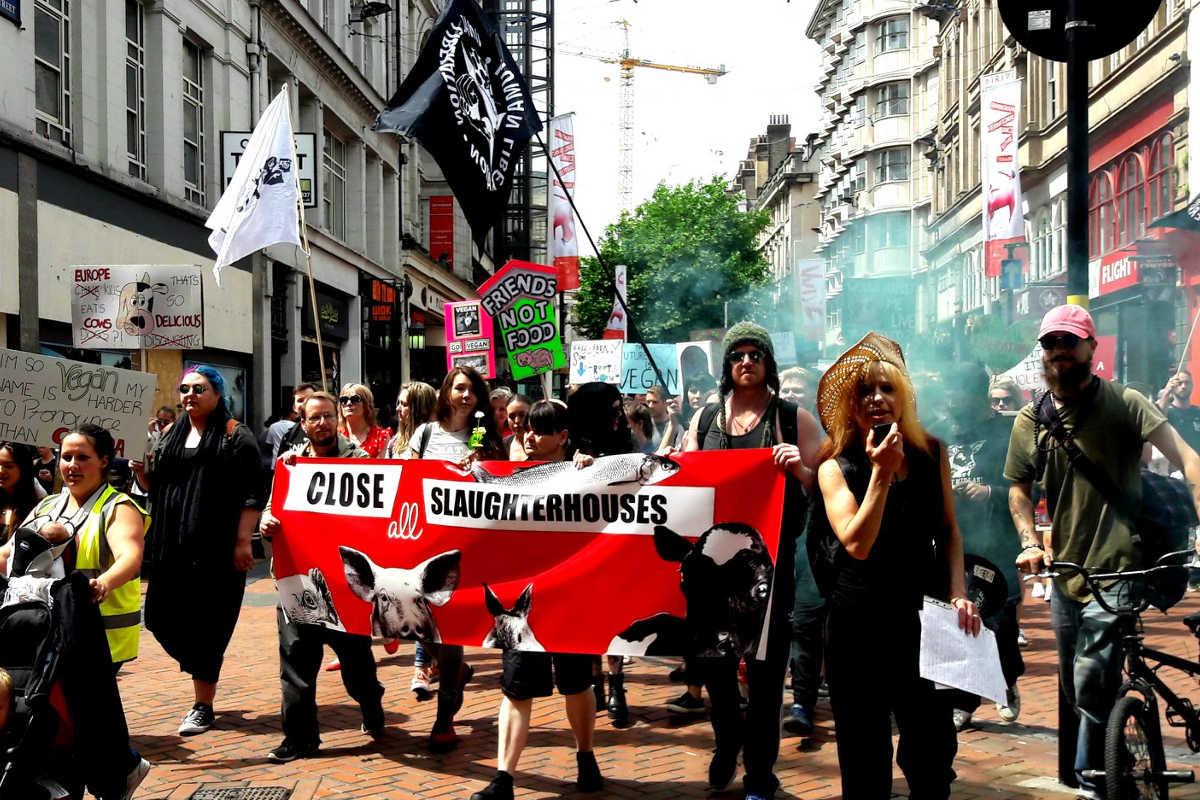 Schließung aller Schlachthäuser in Birmingham 2018