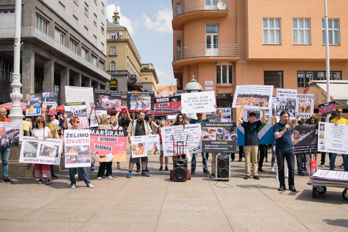 Schließung aller Schlachthäuser in Zagreb 2018