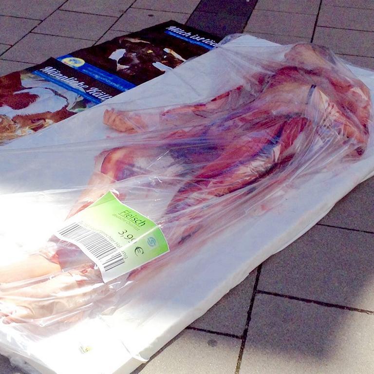 Mit Siegen Animal Save am Fleischmarkt Olpe
