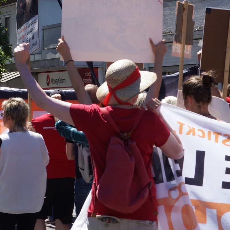Demo für den Regenwald