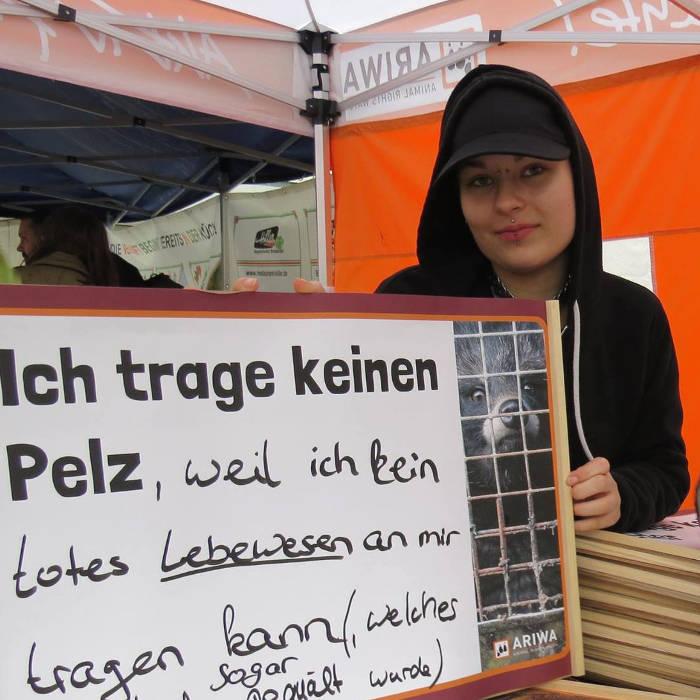 Aktionstag gegen Pelz und Leder