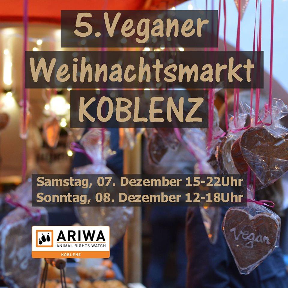 5. Veganer Weihnachtsmarkt Koblenz
