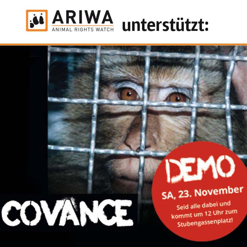 ARIWA unterstützt: Demo gegen Covance