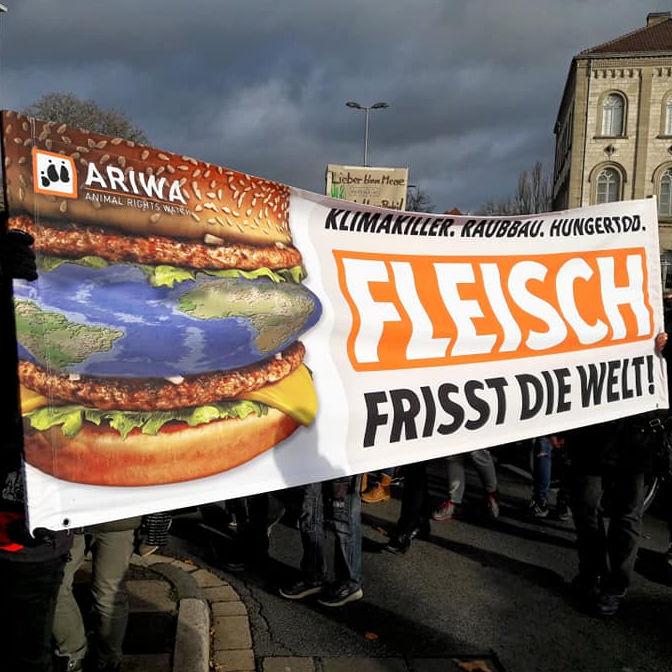 """Aktionstag """"Fleisch frisst die Welt!"""""""