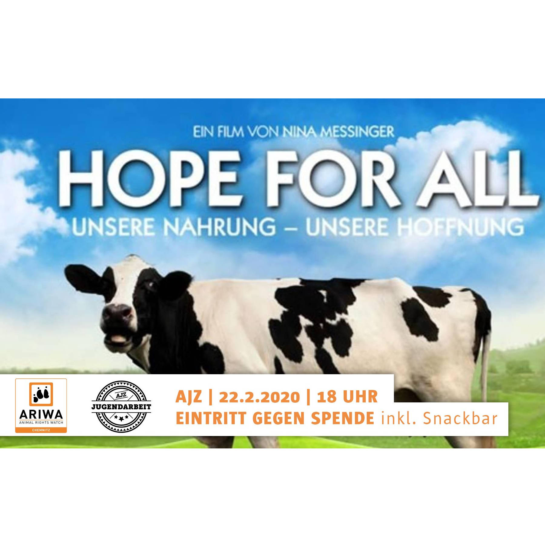 "Filmvorführung: ""Hope for all"""