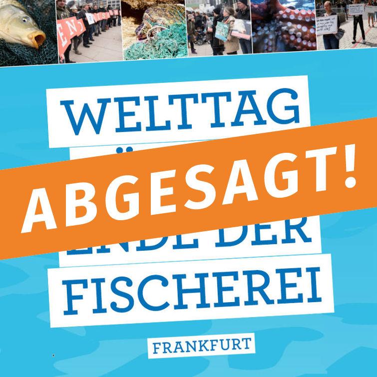 ABGESAGT! - Welttag für das Ende der Fischerei: 4-fach-Silent-Line