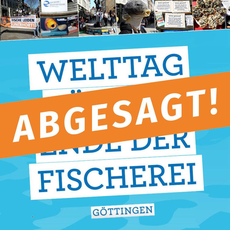 ABGESAGT! - Welttag für das Ende der Fischerei: Protestaktion
