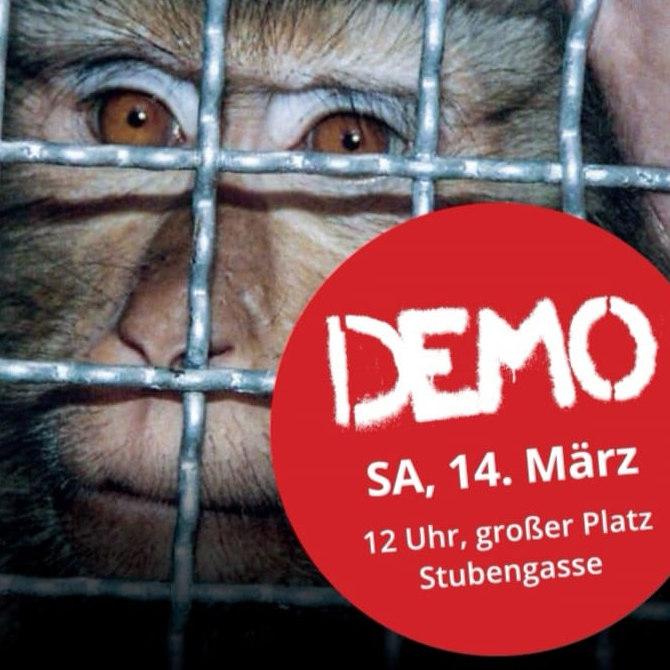 ABGESAGT! - Demo gegen Tierversuche bei Covance