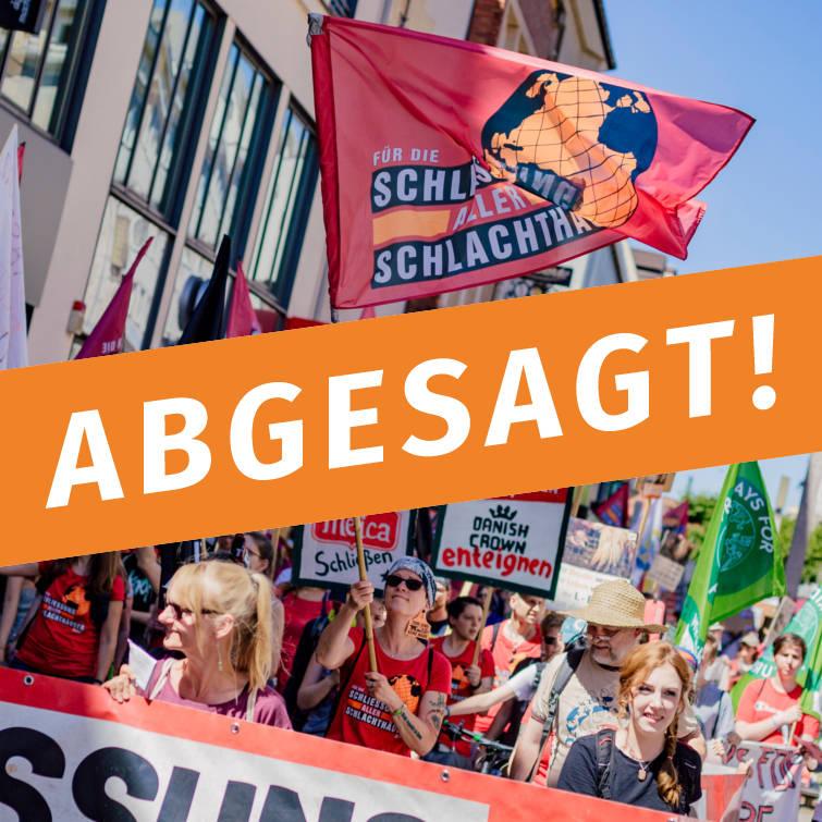 ABGESAGT! – Schließung aller Schlachthäuser Berlin