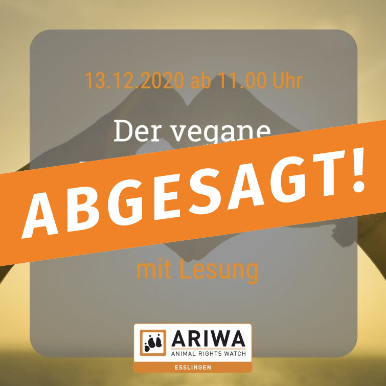 ABGESAGT - Vegan-Brunch mit Lesung
