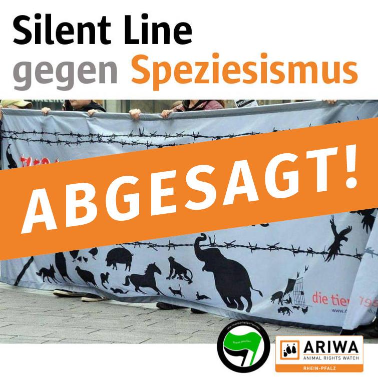 ABGESAGT - Silent Line gegen den Speziesismus