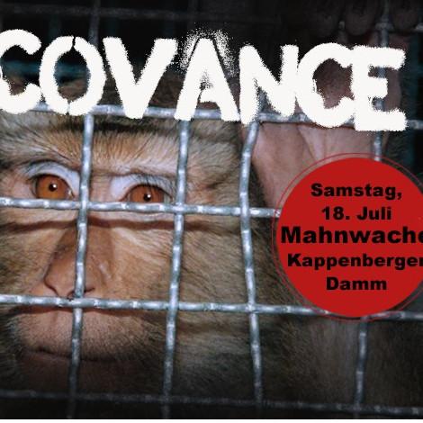 Mahnwache gegen Covance