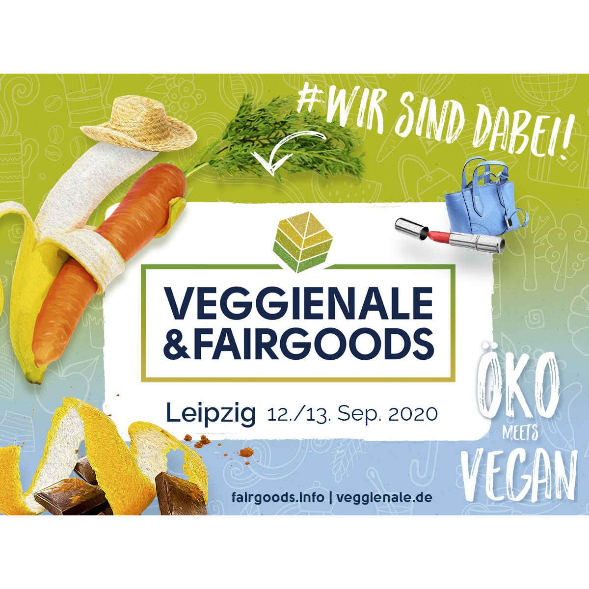 ARIWA Chemnitz goes Veggienale & Fairgoods Leipzig