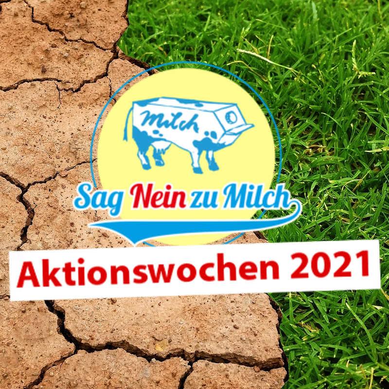 """""""Sag Nein zu Milch"""" beim globalen Klimastreik"""